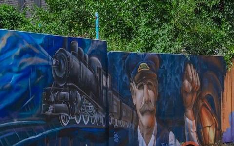 Каменской художник создал новое граффити  Днепродзержинск