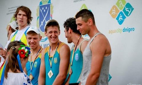 Каменские гребцы стали обладателями 7 наград чемпионата Украины Днепродзержинск