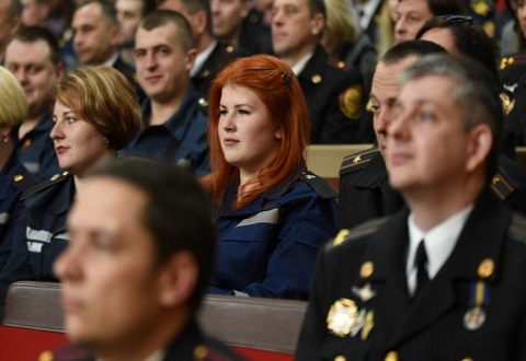 Сотрудников пожарной охраны Каменского поздравил градоначальник Днепродзержинск