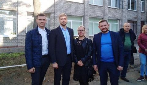 Губернатор посетил СОШ № 20 города Каменское Днепродзержинск