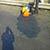 Аварийные участки дорог Днепродзержинска восстанавливают новым методом