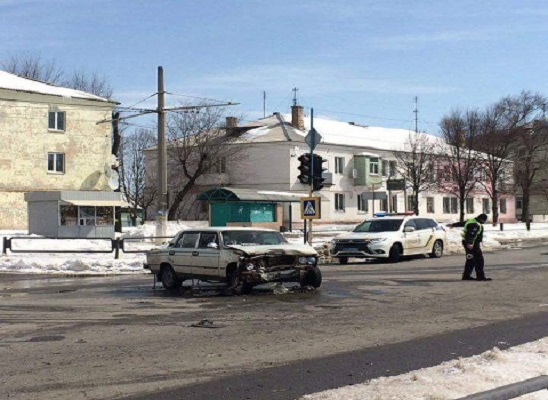 На проспекте г. Каменское произошло ДТП Днепродзержинск