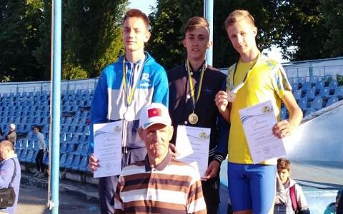 Звание чемпиона Украины завоевал легкоатлет из г. Каменское Днепродзержинск