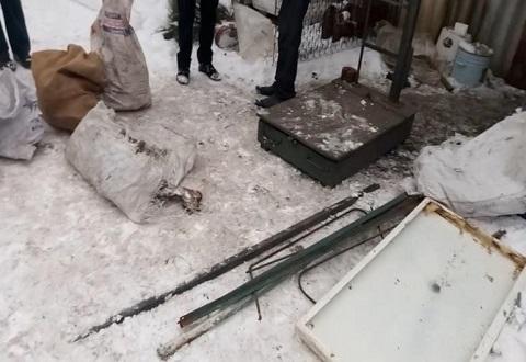 В Каменском выявили еще два незаконных пункта приема металла Днепродзержинск