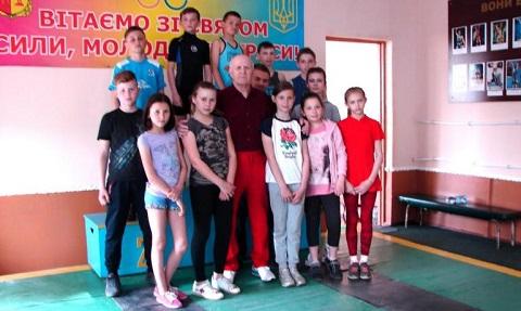 Спортсмены Каменского провели соревнования «Юный богатырь» Днепродзержинск