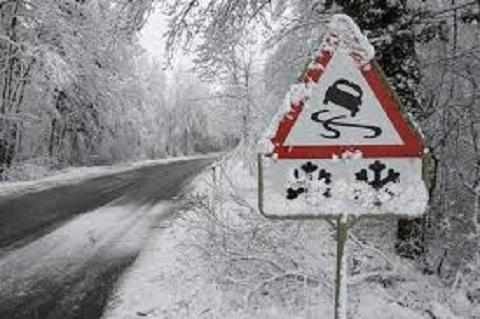 В Каменское пришел снежный шторм Днепродзержинск