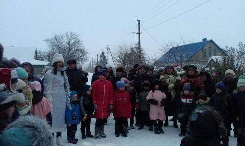 В Южном районе г. Каменское прошли рождественские гулянья Днепродзержинск