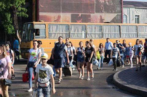 Каменской оздоровительный комплекс «Лесная сказка» открыл сезон отдыха детей Днепродзержинск