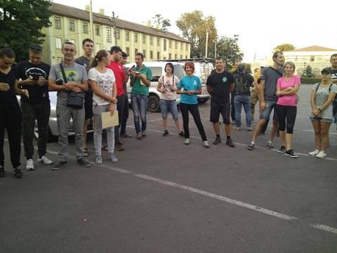 «ДENь знаний» провели в Каменском любители автоквеста Днепродзержинск