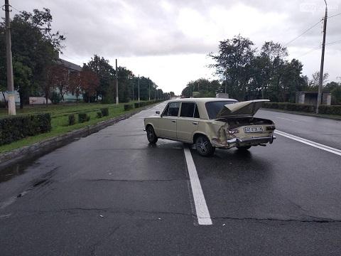 Тройное ДТП на Юбилейном проспекте Каменского Днепродзержинск