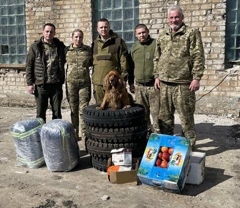 На днях мэр г. Каменское побывал в зоне ООС Днепродзержинск