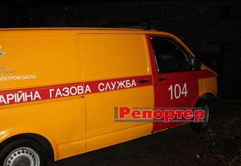 В г. Каменское «Днепропетровскгаз» выполняет работы на газопроводе среднего давления Днепродзержинск
