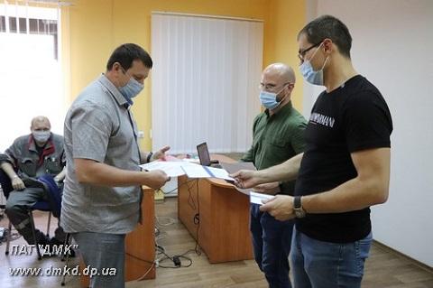 На ДМК г. Каменское организовали работу «Академии доменщика» Днепродзержинск