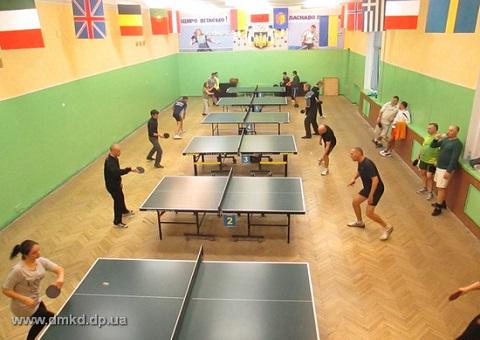 Победителями спартакиады «Здоровья» по теннису стали представители «ДнепрАзота» г. Каменское Днепродзержинск