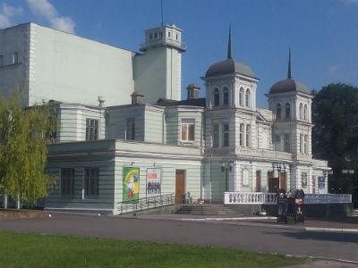 Концерт в честь открытия кассы театра им. Леси Украинки в Каменском Днепродзержинск