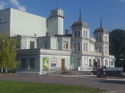 Подарок от театра ко Дню города Каменского Днепродзержинск