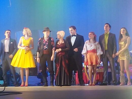 Влюбленные в каменском театре Днепродзержинск