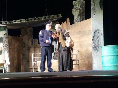 Спектакль «Зона» о чернобыльской трагедии в Каменском Днепродзержинск
