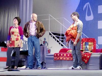 Новогодние праздники в каменском театре Днепродзержинск