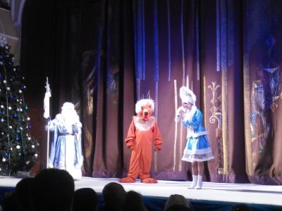 Сказка «Снежная королева» в каменском театре Днепродзержинск