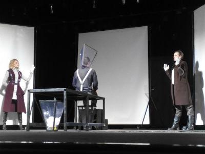 Премьера необычного спектакля в Каменском Днепродзержинск
