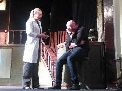 Не спадает интерес к «Отелю двух миров» от каменского театра Днепродзержинск
