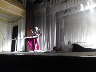 На сцене каменского театра снова балет-феерия «Душа поэта» Днепродзержинск