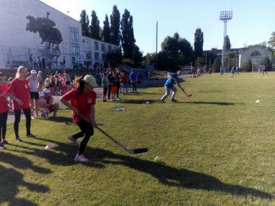 В Каменском прошли «VII Летние молодежные игры» Днепродзержинск