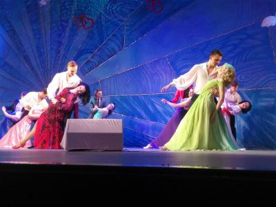 Новая шоу-программа «Штраус-карнавал» в Каменском Днепродзержинск