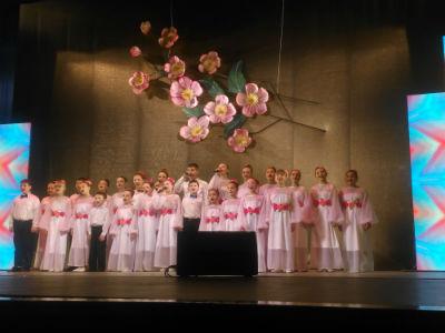 Чествование женщин в каменском театре Днепродзержинск
