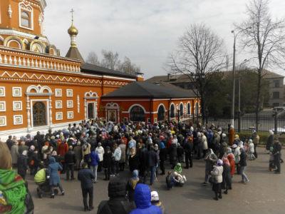 Христианский праздник Благовещенье в Каменском Днепродзержинск