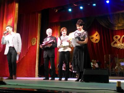 Юбилейный вечер главного режиссера театра в Каменском Днепродзержинск