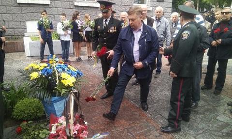 Каменчане стали участниками празднований Дня Победы Днепродзержинск