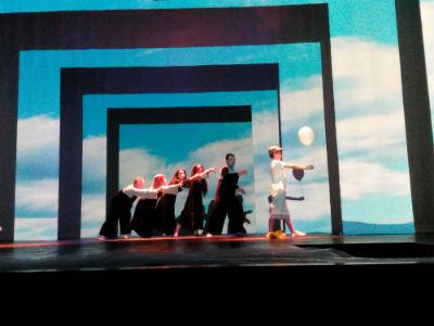 Грузинский театр в Каменском удивил «Нострадамусом» Днепродзержинск