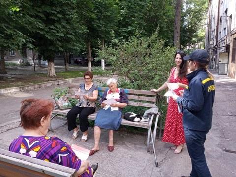 Каменские спасатели провели профилактический рейд Днепродзержинск