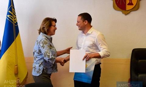 Мэр г. Каменское поздравил журналистов с профессиональным праздником Днепродзержинск