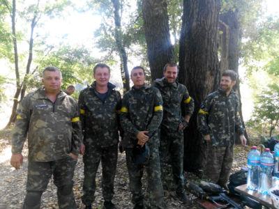 Первый пейнтбольный турнир в Каменском Днепродзержинск