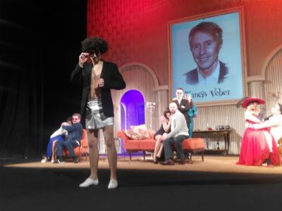 Состоялась премьера спектакля «Ужин дураков» в каменском  театре Днепродзержинск