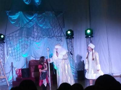 Новогодняя сказка в каменском Доме детского творчества Днепродзержинск