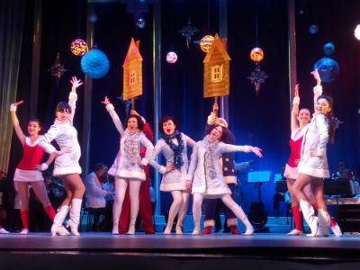 «Сияние звезд» на старый Новый год в каменском театре Днепродзержинск