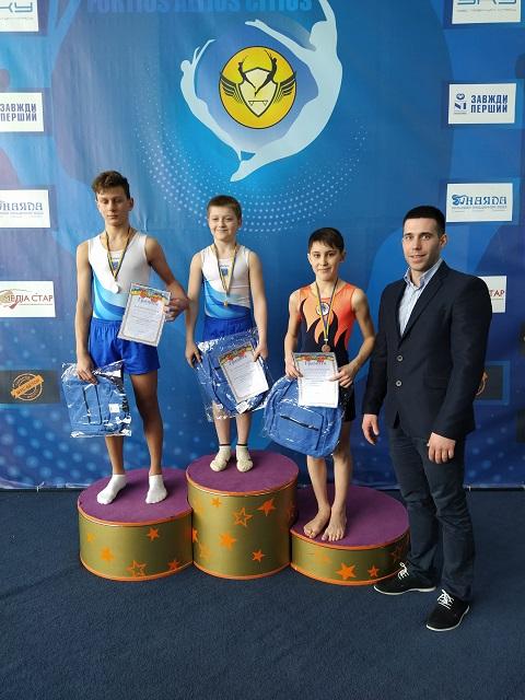Акробаты г. Каменское провели городской чемпионат Днепродзержинск