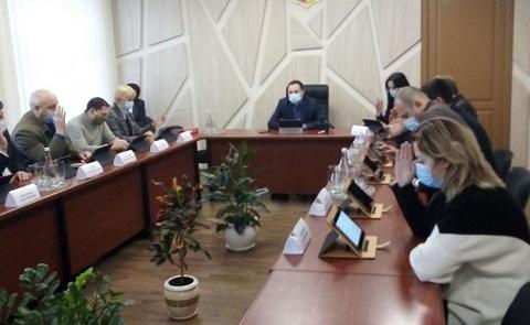 Исполком горсовета г. Каменское провёл заседание  Днепродзержинск