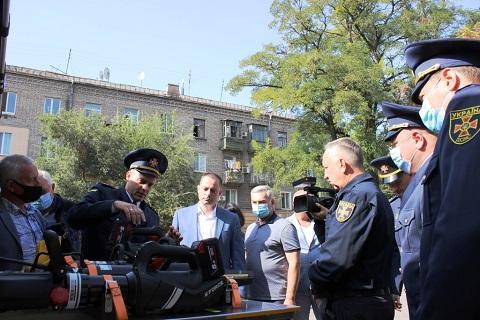 В г. Каменское провели торжества в честь Дня спасателя Днепродзержинск