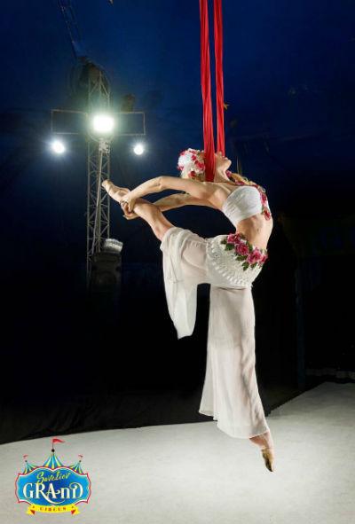 В левобережном парке Каменского в Киевском цирке «Гранд» потерялся белый медведь! Днепродзержинск