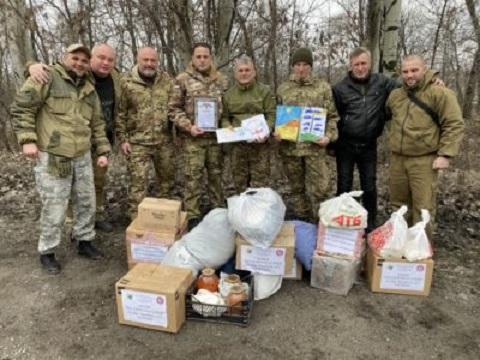 Городской голова г. Каменское побывал в 93-й бригаде зоны ООС Днепродзержинск