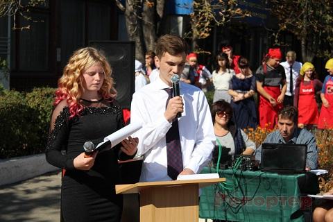 В Каменском учащиеся ЦППРК прошли посвящение в рабочие Днепродзержинск