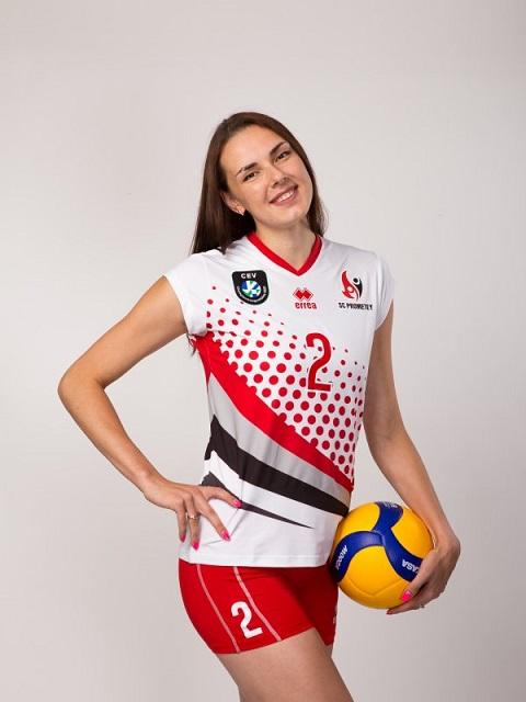 Лучшим игроком Суперкубка Украины-2020 стала Диана Мелюшкина из команды г. Каменское Днепродзержинск