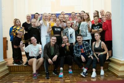 Танцевальные мастер классы в театре им. Леси Украинки Днепродзержинск