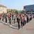 Масштабный флэшмоб молодежь Каменского провела на главной площади города