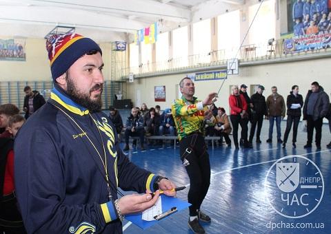 Скалолазы стали участниками соревнований на базе в г. Каменское Днепродзержинск